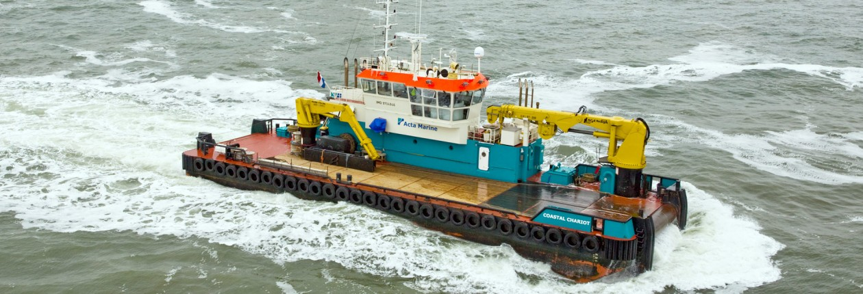 37 Meter Length  Support Vessel