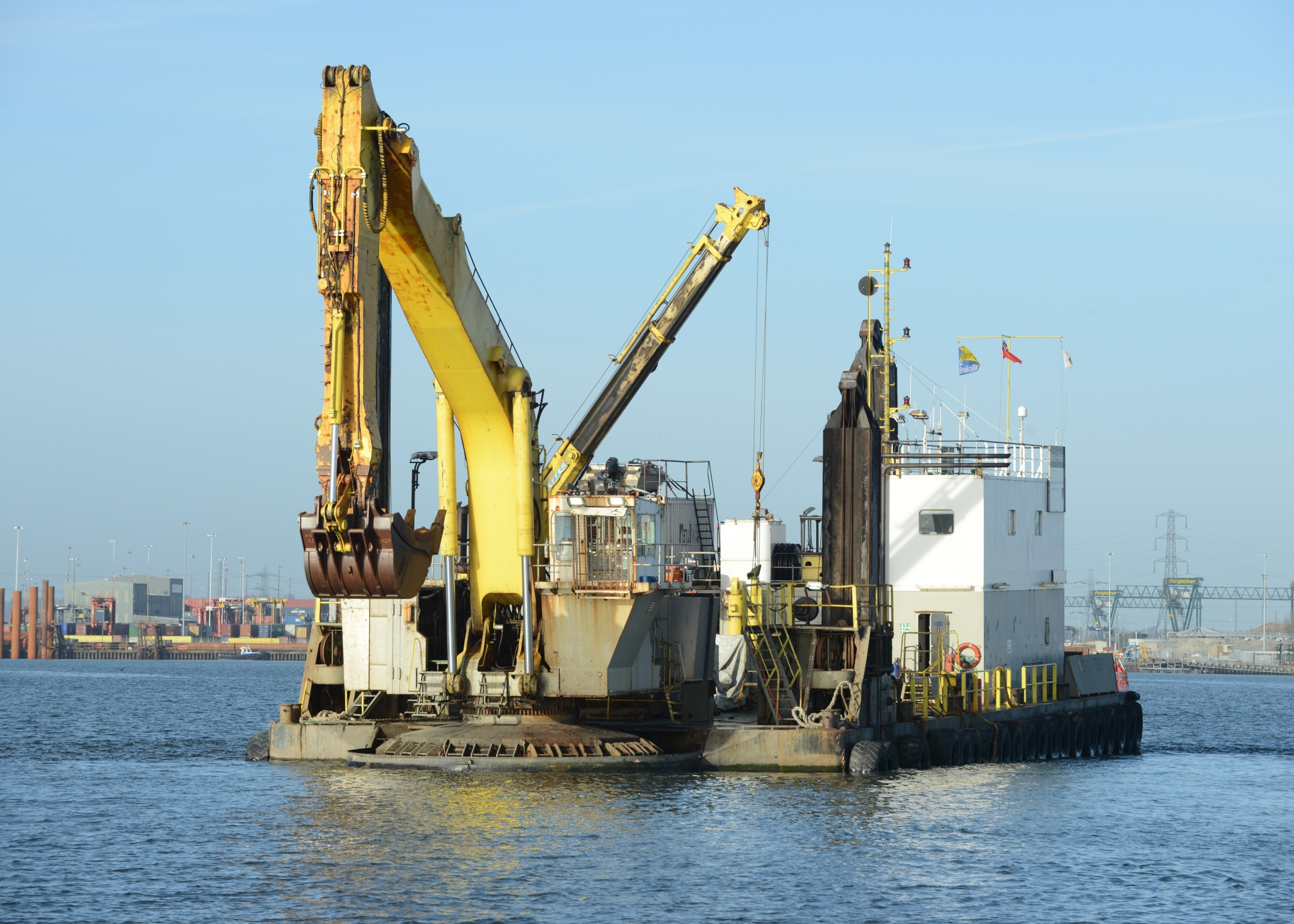 49 Meter Length Dredger