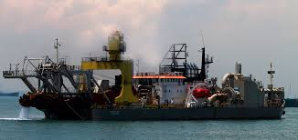 112 Meter Length Dredger