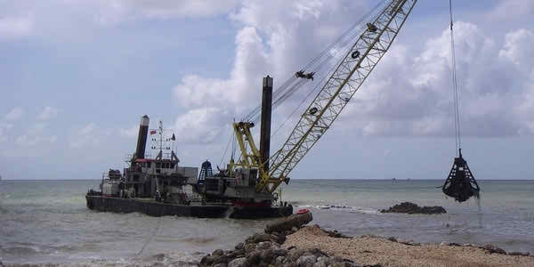 43 Meter Length Floating Crane
