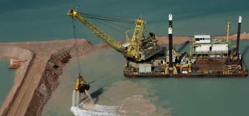 43 Meter Length Floating Crane Barge