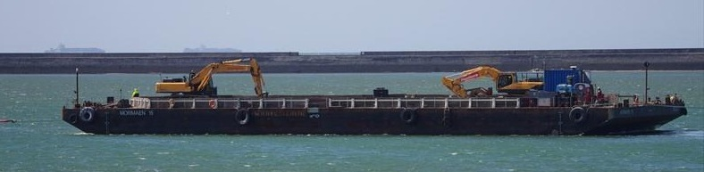 60 Meter Length Barge Vessel
