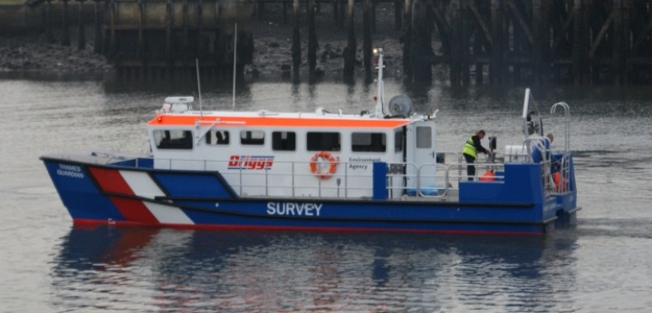 14 Meter Length  Survey vessel
