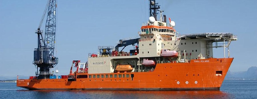 131 Meter  Length Dive Support Vessel