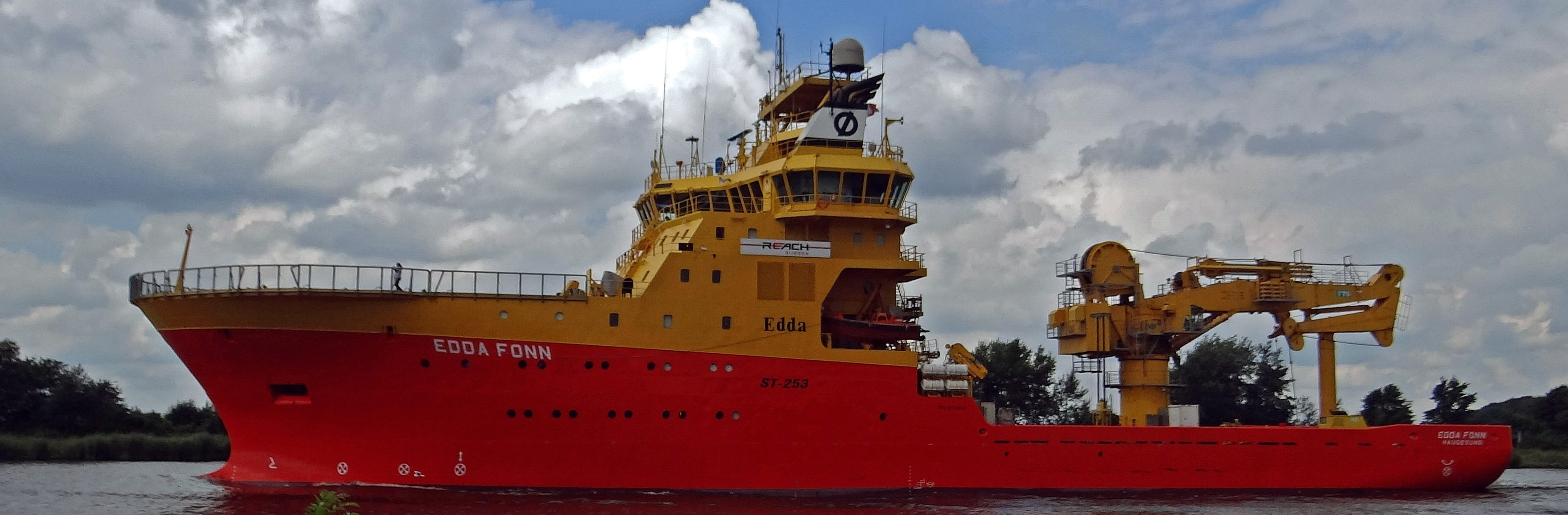 84 Meter Length Survey Vessel