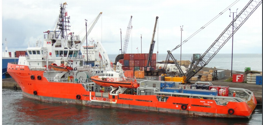 66 Meter Length Victory Anchor Handling Tug Supply Vessels