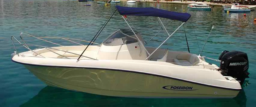 Blue Water 640 Rib vessel