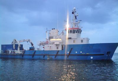 35 METER LENGTH  MULTIPURPOSE VESSEL