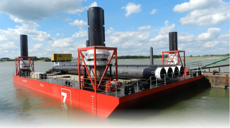 29 Meter Length  Barge Vessel