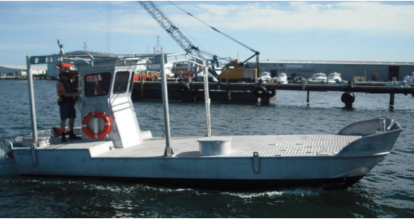 8 Meter Length Barge Survey Vessel
